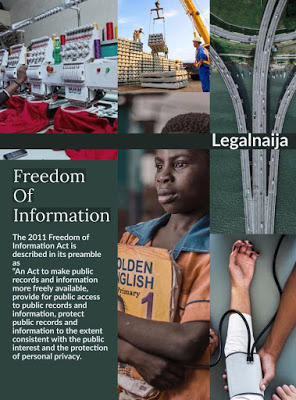 Exploring The Freedom Of Information Act, 2011 As A Tool For Holding Government And Public Institutions Accountable | By Henry Chibuike Ugwu