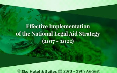 Effective Implementation of the National Legal Aid Strategy (2017 -2022)