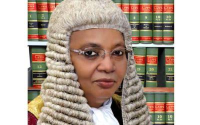 Dele Adesina SAN celebrates Honourable Justice Zainab Adamu Bulkachuwa OFR, CFR, President of the Court of Appeal