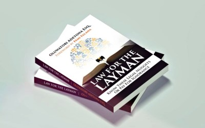 ORDER NOW: LAW FOR THE LAYMAN