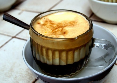 Egg Coffee, Photo by Jodi Ettenberg