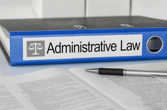 The Basics of Administrative Law