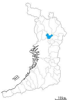摂津市の地図