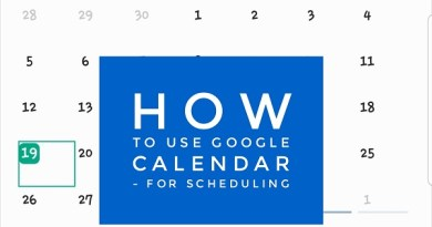 How to Use Google Calendar – for Scheduling