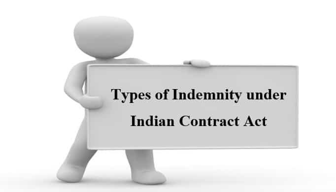 Types of Indemnity under Indian Contract Act