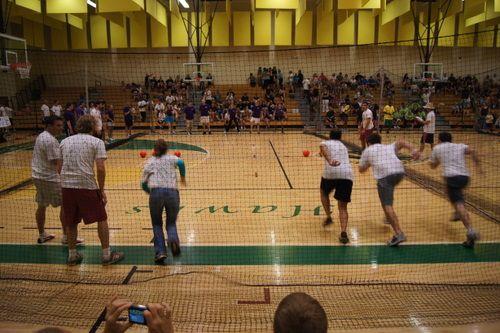 Lethal Litigators Dodgeball Team Playing