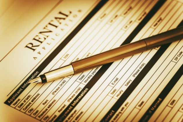 Rental Application Form   Create a Free Lease Application Form signing an application