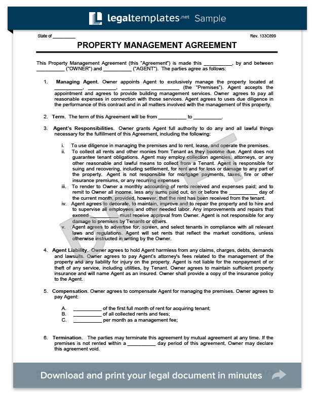 Apartment Lease Agreement Form Pdf