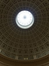 Echoes of Rome's Pantheon.
