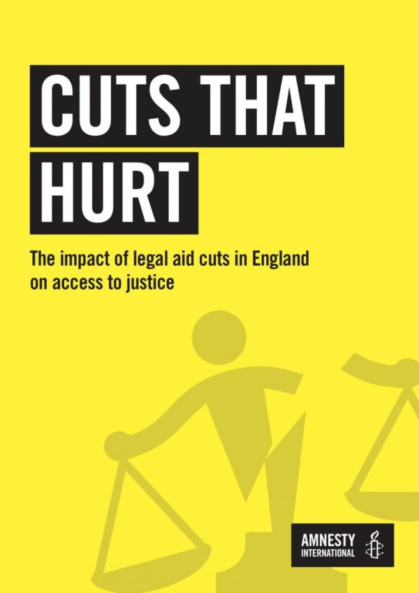 LASPO cuts have created a 'two-tier' justice system, says ...