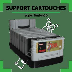 Support cartouches Super Nintendo
