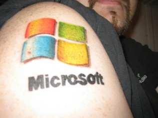 Tatuaggio Nerd - Microsoft - Lega Nerd