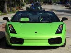 2008 Lamborghini Gallardo Lime Green 2