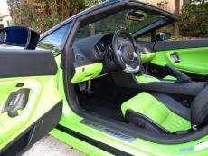 2008 Lamborghini Gallardo Lime Green 7