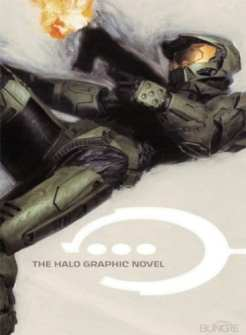 """Copertina della graphic novel """"Halo"""""""