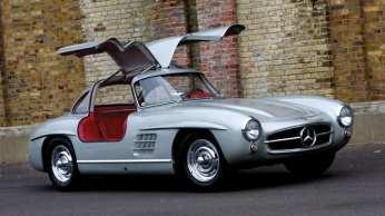 1955 Mercedes-Benz 300SL Coupe - Estimate £350,000-£400,000.