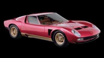 1971 Lamborghini Miura SVJ - Estimate £800,000-£1,100,000.