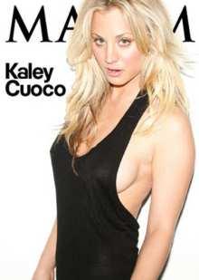 Kaley Cuoco su Maxim 2