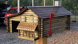 mailbox02 - Log Cabin