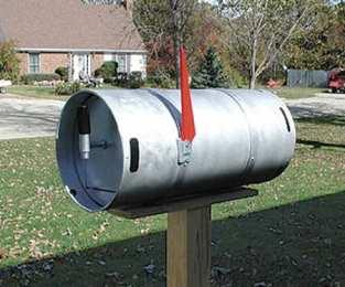 mailbox06 - Beer Keg
