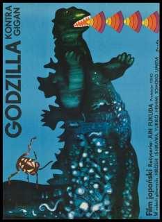Godzilla vs. Gigan (Polonia 1977)