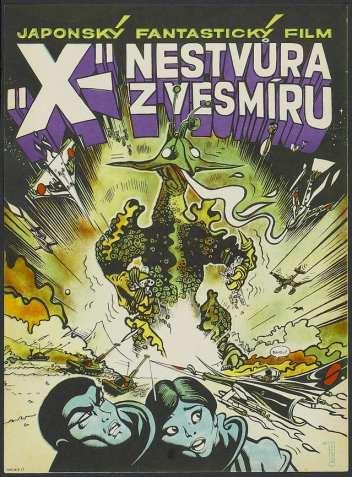La X dallo spazio profondo (Cecosolovacchia 1968)