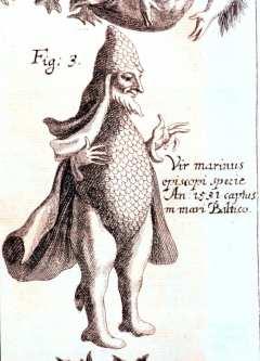 Una rappresentazione di un Vescovo di Mare