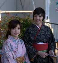 Giapponesine all'ingresso