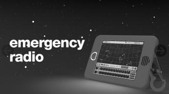 e da radio di emergenza...