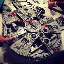 Lego Star Wars 10179 Millennium Falcon UCS - 073