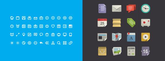 Flat Design: Icons
