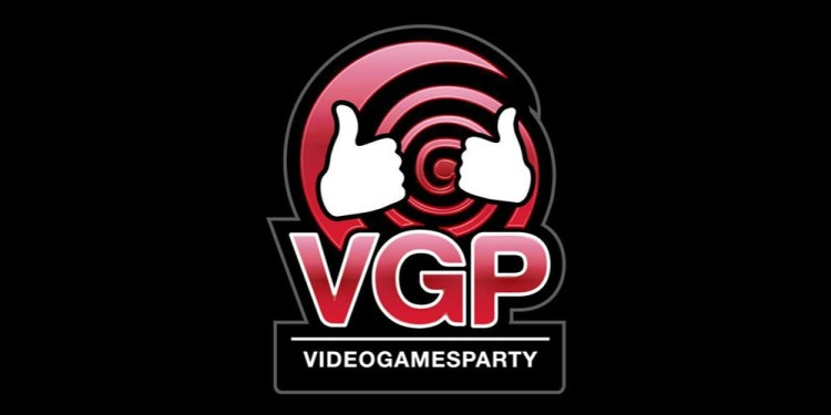 Video Games Party Logo