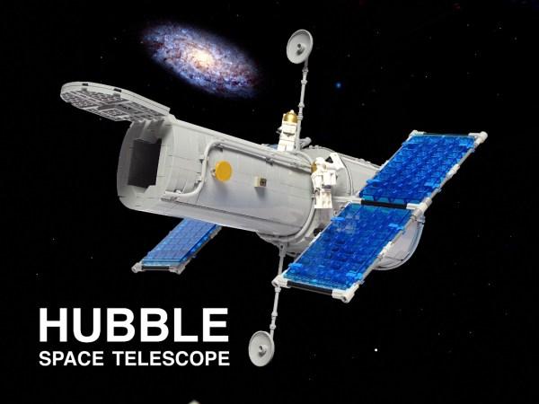 La MOC LEGO del telescopio spaziale Hubble