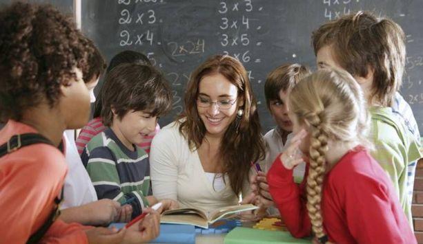 alumnos colegio clase