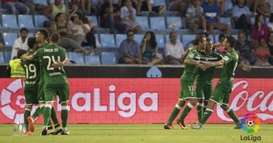 El Leganés venció al Celta en su estreno en primera.