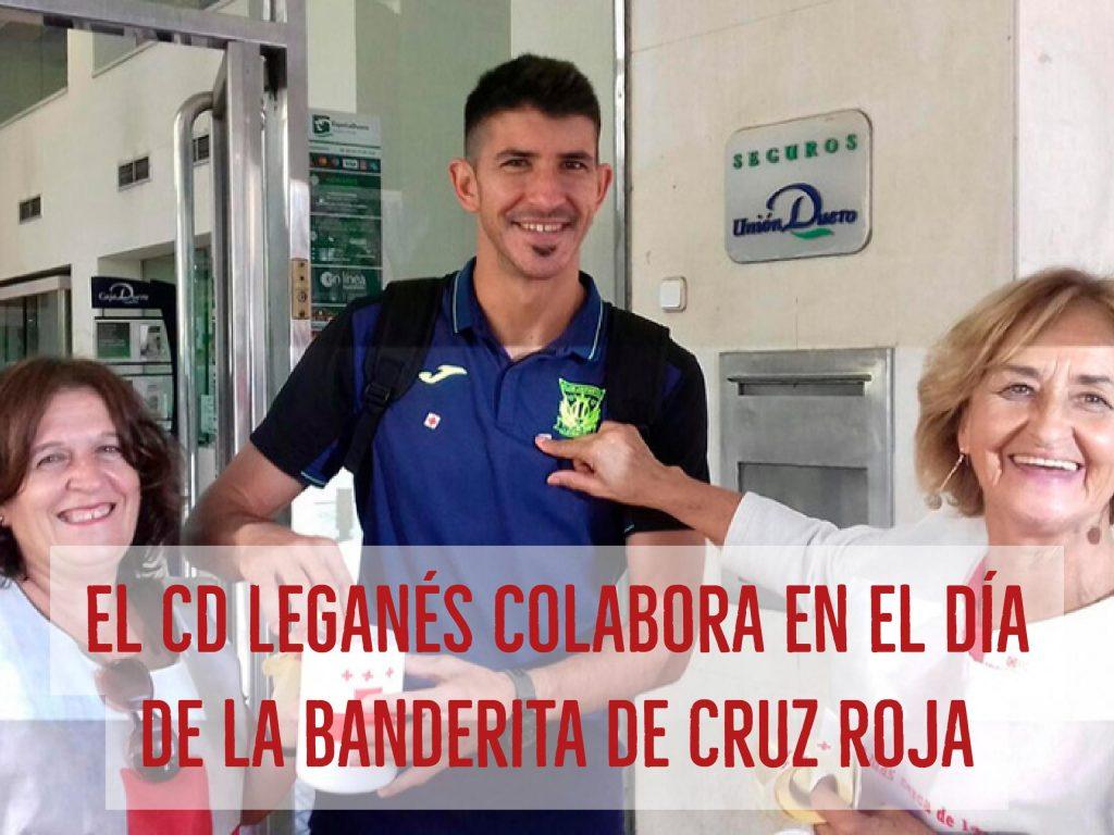 CD Leganes en el Dia de la Banderita