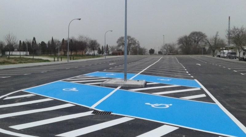 aparcamiento calle chile leganes