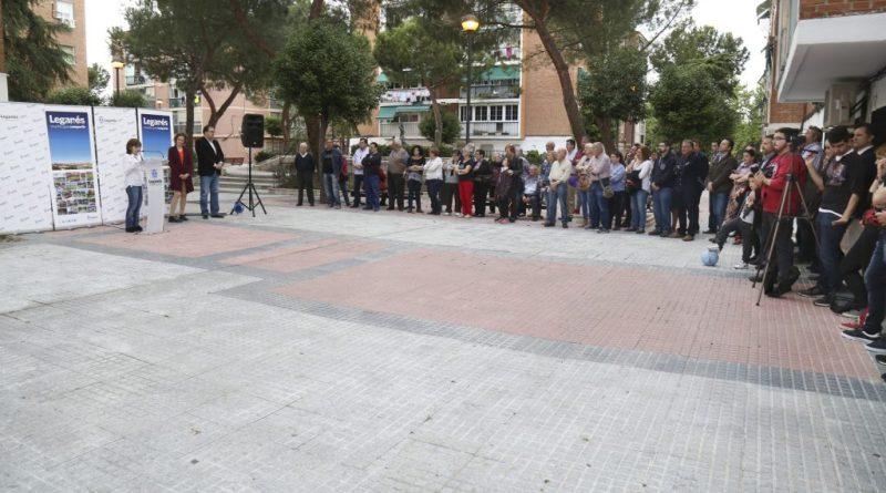 San Nicasio ya cuenta con una plaza homenaje a Francisco Pérez, 'Paco, el de Sanni'
