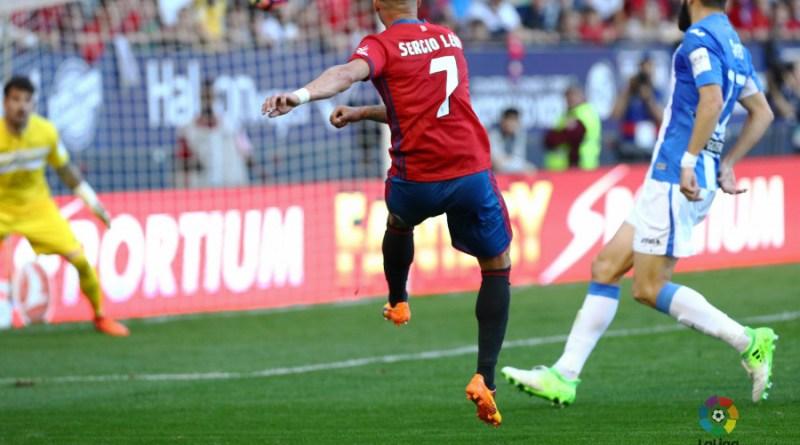 Sergio León dio la victoria a Osasuna con un golazo.