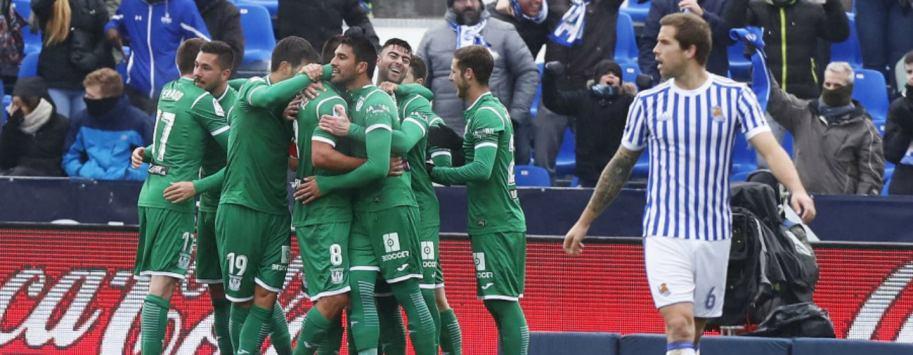 CD Leganés - Real Sociedad 2018