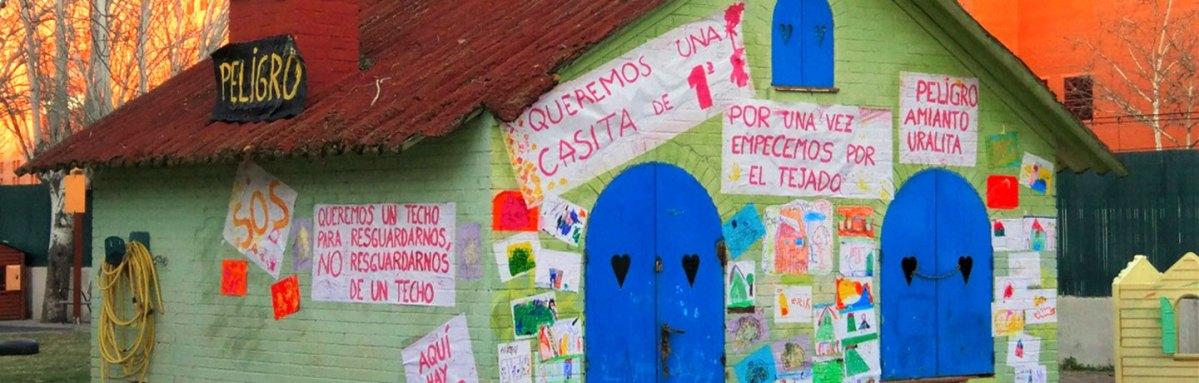 El AMPA de la Escuela Infantil Jeromín exige la retirada del amianto de los tejados del edificio