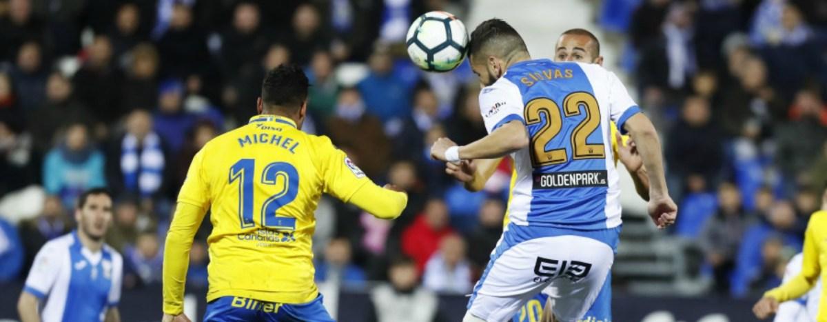 Fútbol: Reparto de puntos entre Leganés y Las Palmas