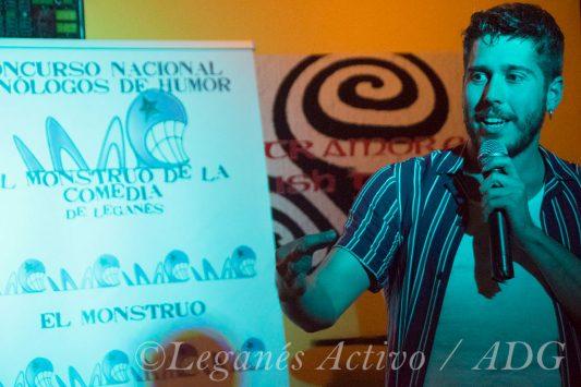 Juanma Dupley Concurso Monstruo de la Comedia Leganes Activo