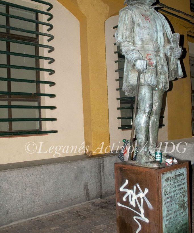 estatua-juan-munoz-pintadas-leganesactivo
