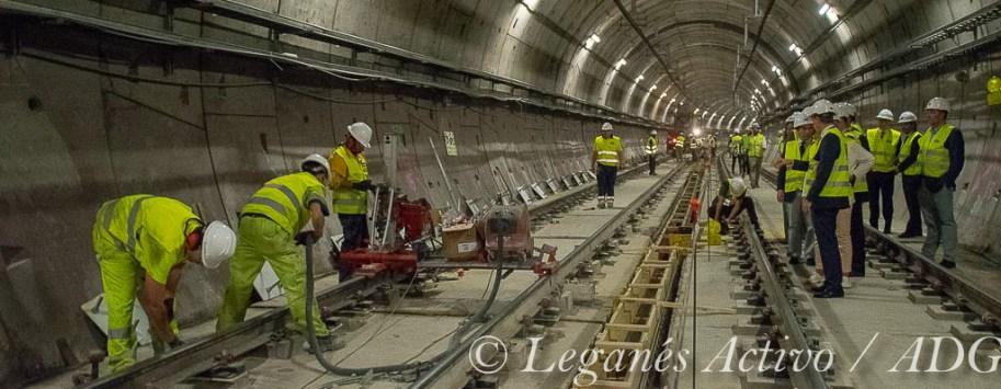 Tunel estacion El Carrascal