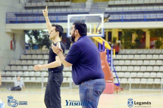 Antonio Pernas Club Baloncesto Leganés