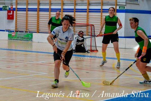 floorball unihockey leganes femenino