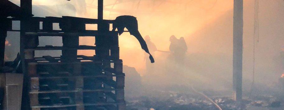 incendio nave industrial leganes