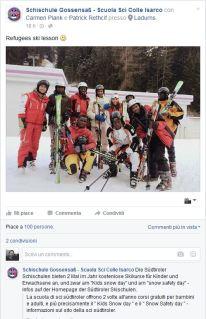 2016.01.16 Colle Isarco - Spot della scuola di sci