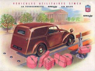 Simca 5 La Fourgonnette